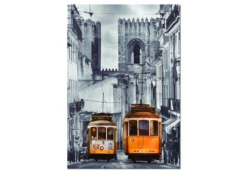 Educa De tram in Lissabon - 1500 stukjes