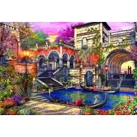 thumb-Romantisch Venetië - 3000 stukjes-1