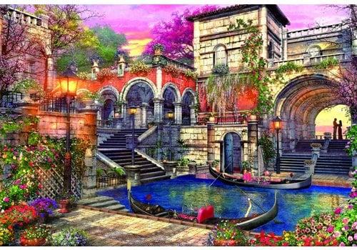Romantisch Venetië - 3000 stukjes