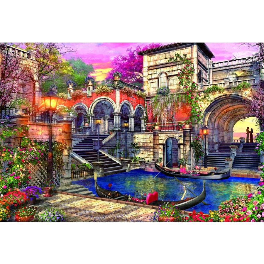 Romantisch Venetië - 3000 stukjes-1