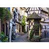 Ravensburger Het Franse dorp Eguisheim in de Elzas - puzzel van  1000 stukjes