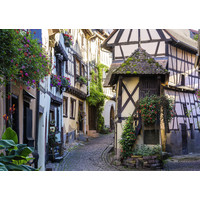 thumb-The French village of Eguisheim in Alsace - puzzle of 1000 pieces-1