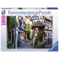 thumb-The French village of Eguisheim in Alsace - puzzle of 1000 pieces-2