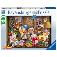 thumb-De Gelini Familie  - puzzel van 1500 stukjes-2