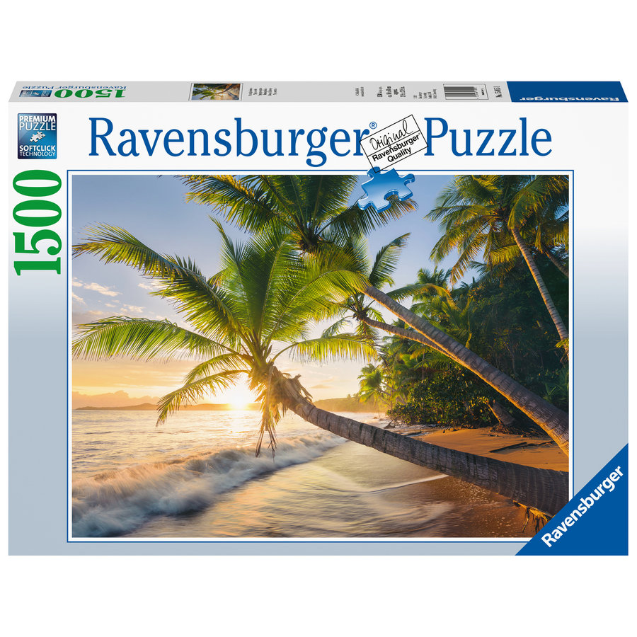 Strandgeheim - puzzel van 1500 stukjes-1