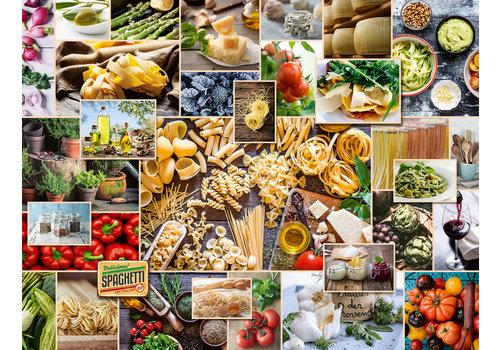 Food Collage - 2000 stukjes