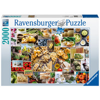 thumb-Food Collage  - puzzle of 2000 pieces-2