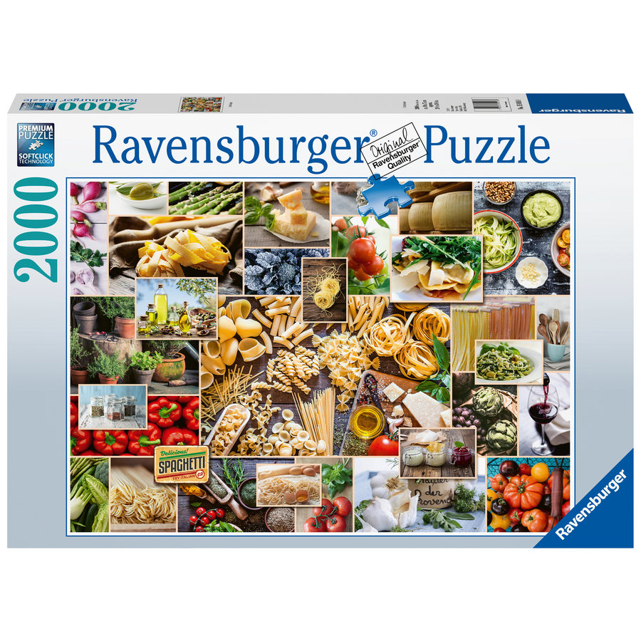 Food Collage  - puzzle of 2000 pieces-2
