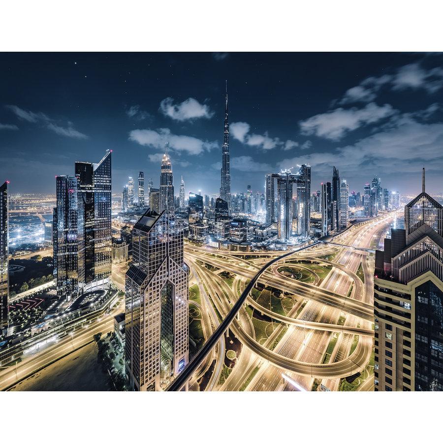 Uitzicht op Dubai   - puzzel van 2000 stukjes-1