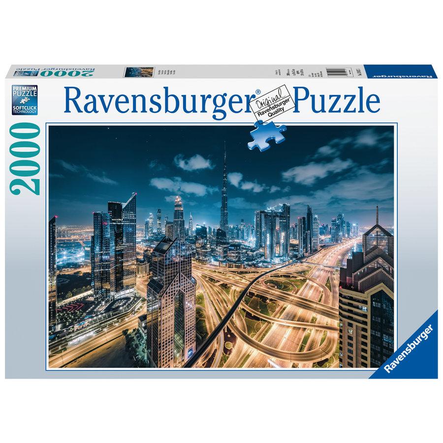 Uitzicht op Dubai   - puzzel van 2000 stukjes-2