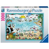 thumb-Ik wil zee - Sheepworld - puzzel 1000 stukjes-1