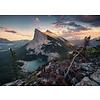 Ravensburger La soirée dans the Rocky Mountains - puzzle de 1000 pièces