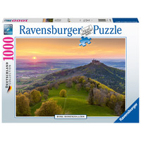 thumb-Burg Hohenzollern in Duitsland - puzzel van  1000 stukjes-2