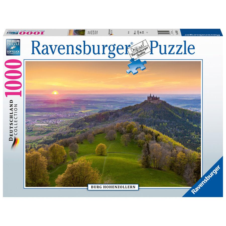 Burg Hohenzollern in Duitsland - puzzel van  1000 stukjes-2