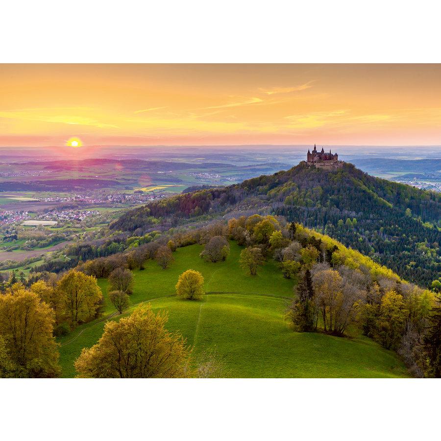 Burg Hohenzollern in Duitsland - puzzel van  1000 stukjes-1