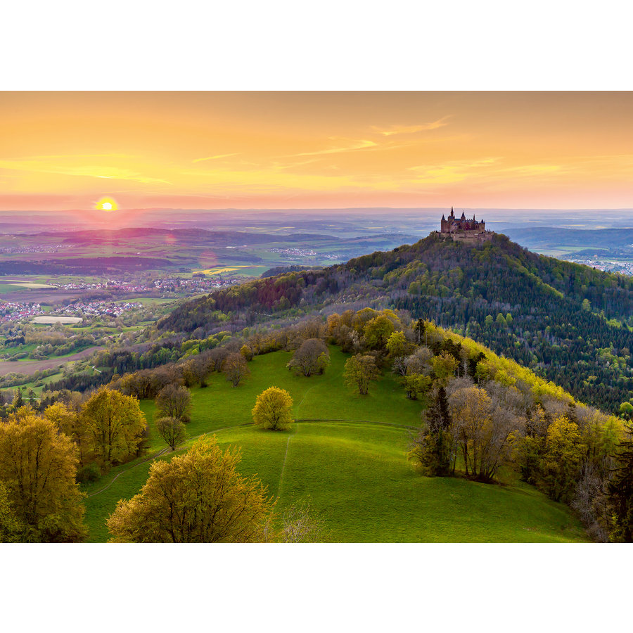 Burg Hohenzollern in Germany - puzzle of 1000 pieces-1