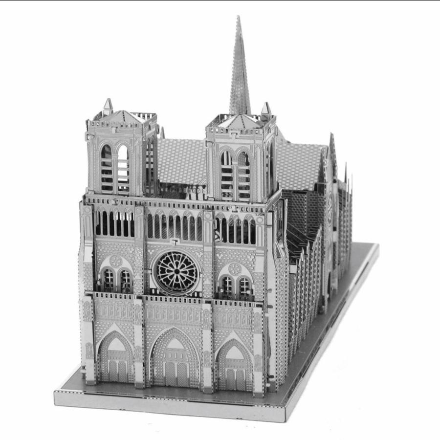 Notre Dame de Paris - Iconx puzzle 3D-2