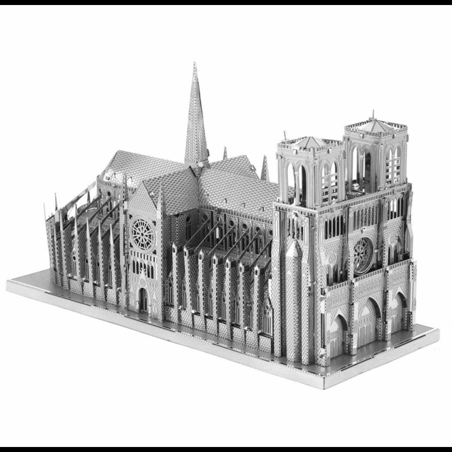 Notre Dame de Paris - Iconx puzzle 3D-4