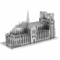 thumb-Notre Dame de Paris - Iconx puzzle 3D-5