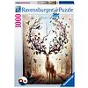 Ravensburger Cerf fantastique - puzzle de 1000 pièces