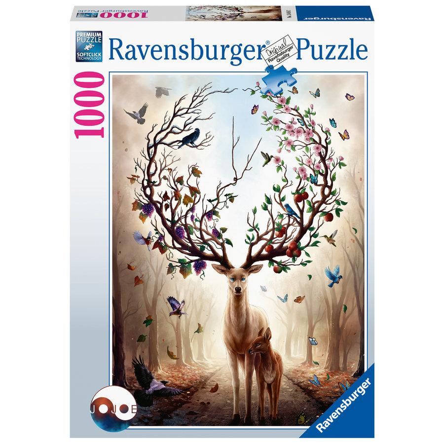 Cerf fantastique - puzzle de 1000 pièces-1