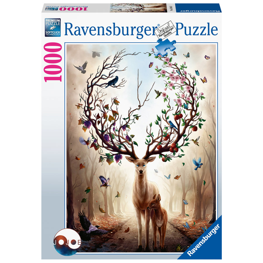 Fantasydeer - puzzle of 1000 pieces-1