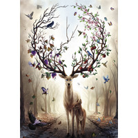 thumb-Fantasydeer - puzzle of 1000 pieces-2