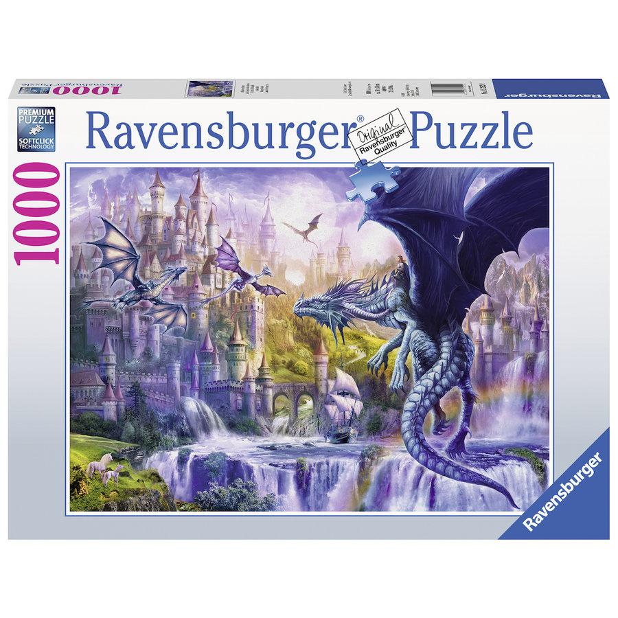 Le château des dragons - puzzle de 1000 pièces-2