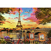 Ravensburger The banks of the Seine - puzzle of 1000 pieces