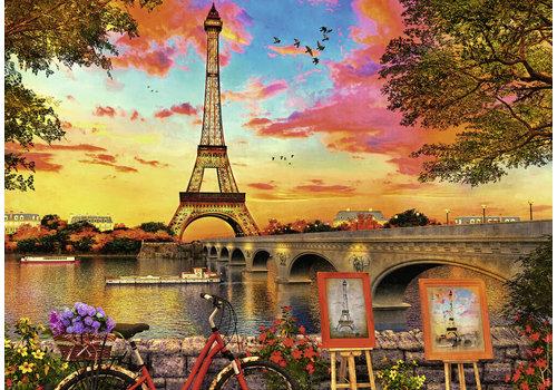 Ravensburger De oevers van de Seine - 1000 stukjes