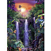 Ravensburger Magnificent waterfalls - jigsaw puzzle of 500 pieces