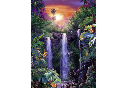 Schitterende watervallen - 500 stukjes