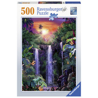 thumb-Magnificent waterfalls - jigsaw puzzle of 500 pieces-2