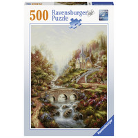 thumb-L'heure dorée  - puzzle de 500 pièces-1
