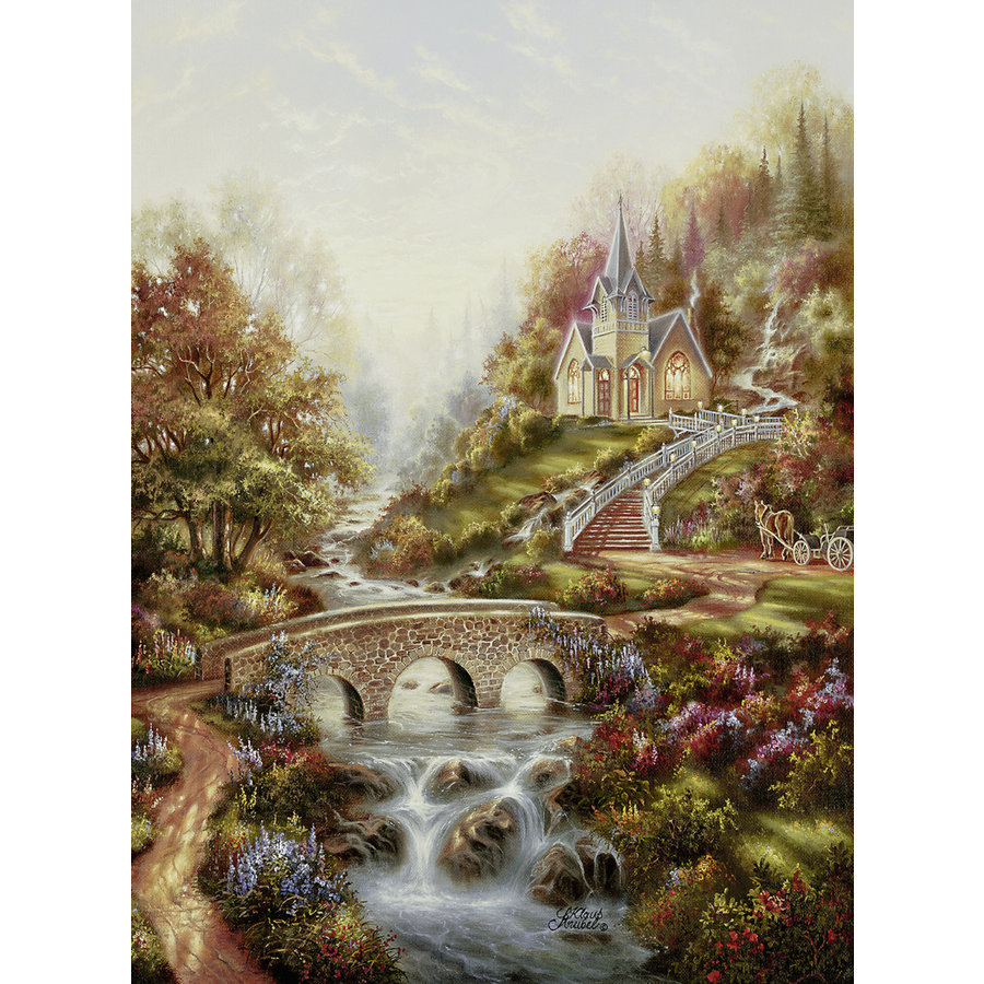 The golden hour - jigsaw puzzle of 500 pieces-2