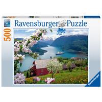 thumb-Scandinavian idyll - jigsaw puzzle of 500 pieces-2