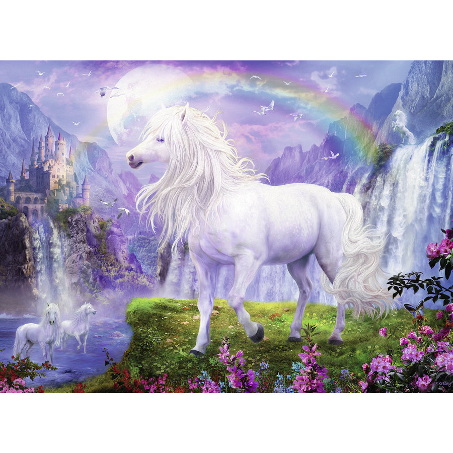 The rainbow valley - jigsaw puzzle of 500 pieces-1