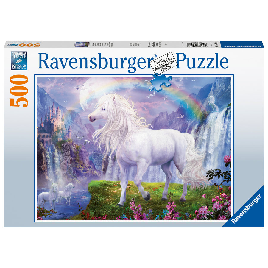 The rainbow valley - jigsaw puzzle of 500 pieces-2