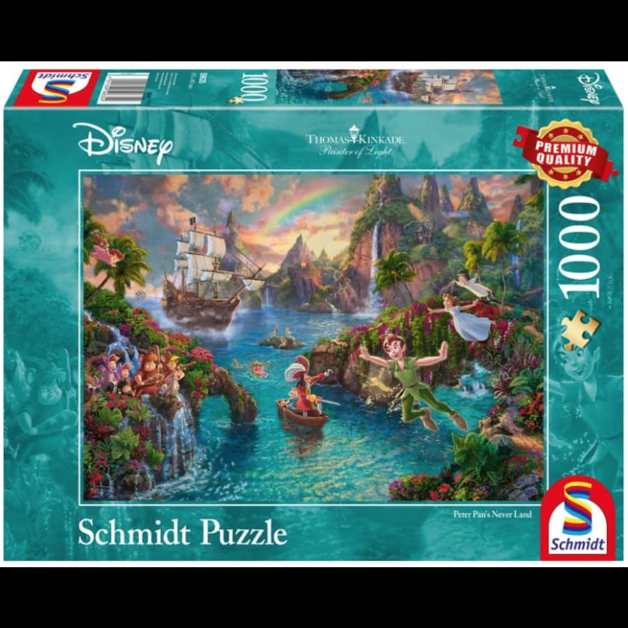 Peter Pan  - Thomas Kinkade - puzzle de 1000 pièces-2