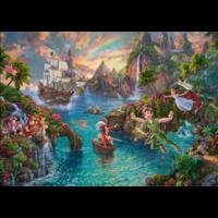 thumb-Peter Pan  - Thomas Kinkade - puzzle de 1000 pièces-1