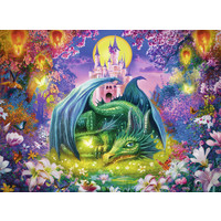 thumb-Mystical dragon forest - 300 pieces-1
