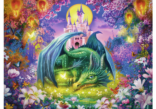 Mystical dragon forest - 300 pieces