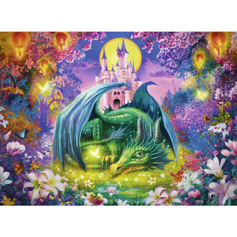 Mystical dragon forest - 300 pieces-1