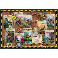thumb-Collection de dinosaures -  puzzle de 100 pièces-1
