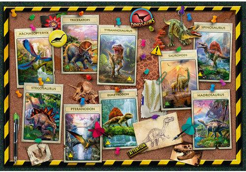 Ravensburger Collection de dinosaures - 100 pièces