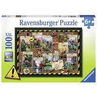 thumb-Collection de dinosaures -  puzzle de 100 pièces-2