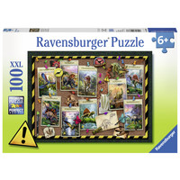 thumb-Dinosaur collection - puzzle of 100 pieces-2