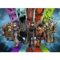 thumb-Dragons 3 - Dragon Rider- Puzzle de 200 pièces-2