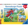 Ravensburger Above the clouds - 3 puzzles of 49 pieces