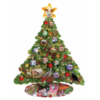 De kerstboom - legpuzzel van 1000 stukjes